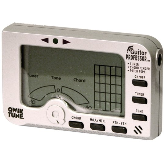 Net Impact: Qwik Tune Guitar Professor All-in-One Tuner, Chord